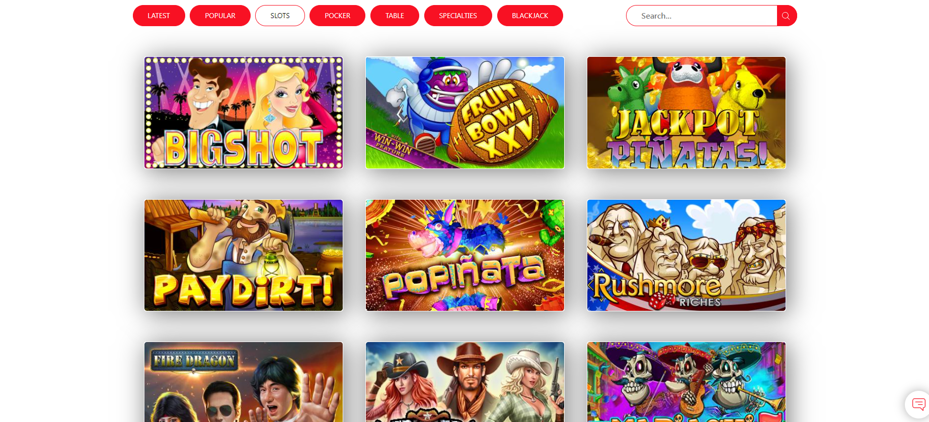 Red Dog Casino Slots